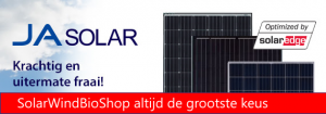 JA Solar plus optimizers