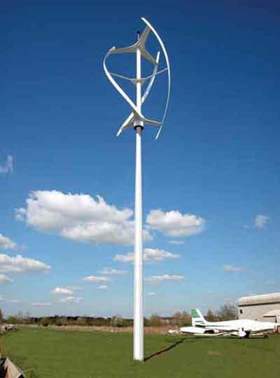 Verticale windturbine